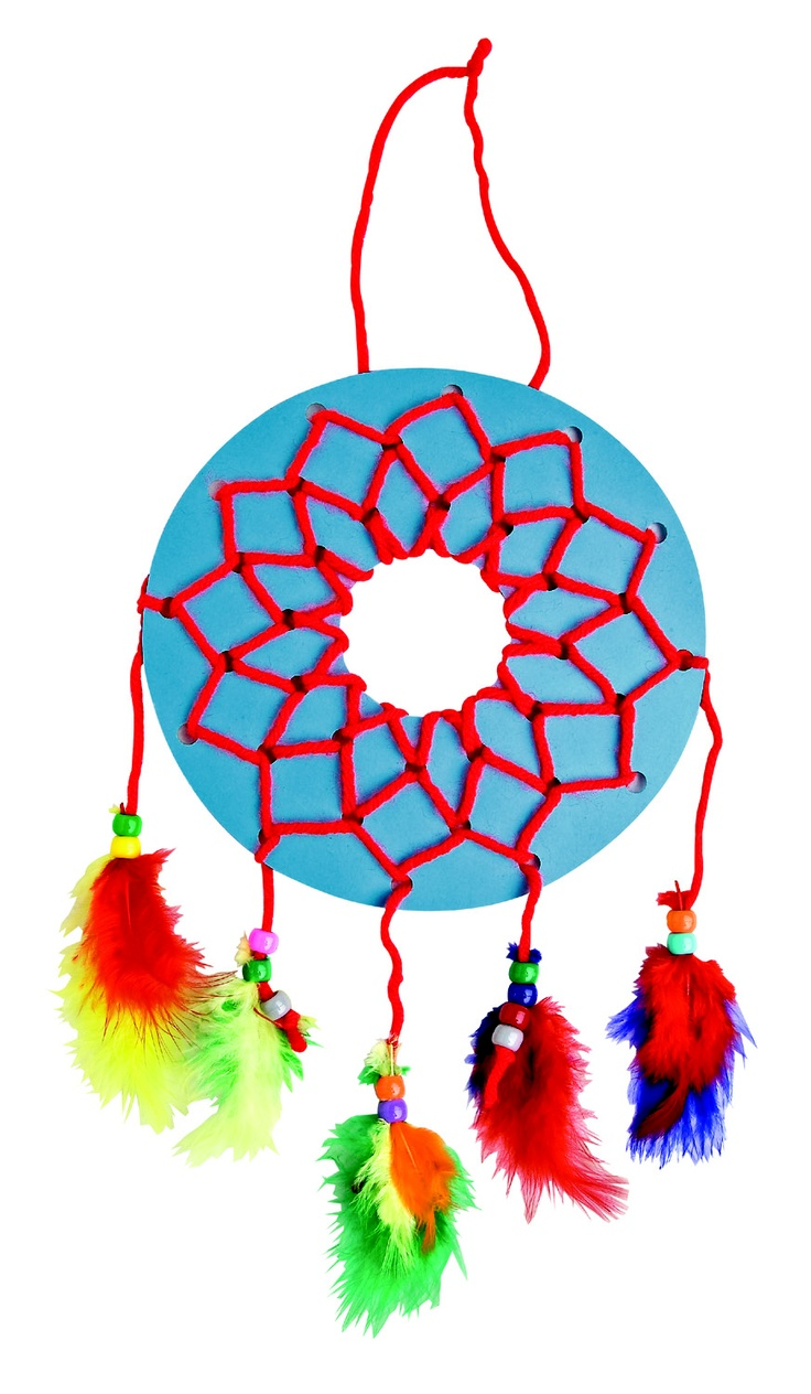 Easy Dream Catchers (216-033) from Guildcraft Arts & Crafts!