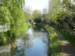 The River Stort - just across the road from where I am now :)