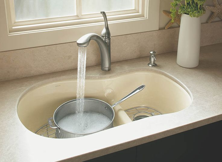 Kohler K10433vs Kitchen Sink. Kohler K10445cp Forte Widespread Kitchen  Faucet Polished Chrome