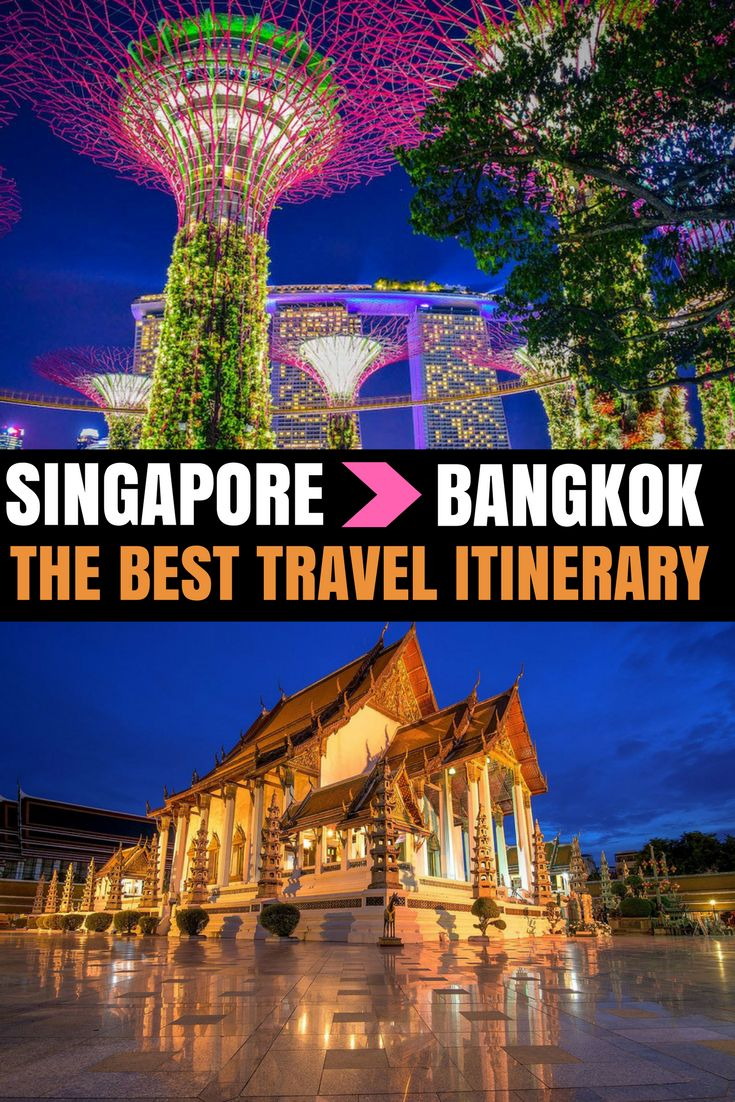 Traveling from Singapore to Bangkok? Check out my post about the best places to stop, trip highlights, and helpful travel tips!