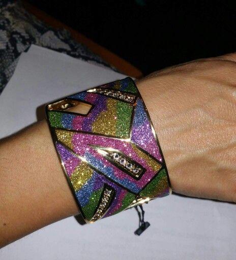 Rainbow mist bracelet
