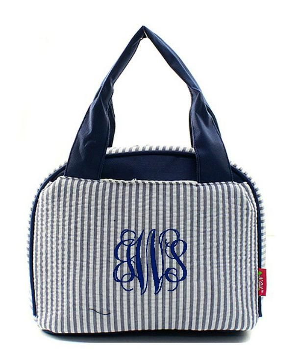 """Personalized 9"""" Insulated Lunch Bag Box Lunchbox"""