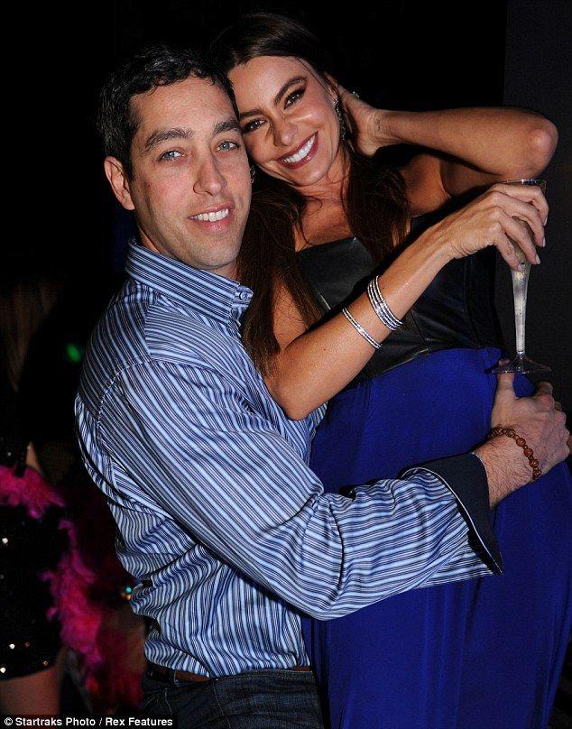 Sofia Vergara's fiancé Nick Loeb NYE 2013 at The Delano South Beach.
