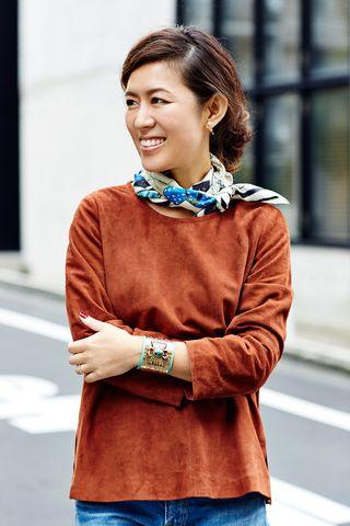 毎日新聞連動企画~スカーフの今年らしい巻き方を教えて!~《その3》 | ASK & ANSWER [お悩み相談室] FASHION | mi-mollet(ミモレ) | 講談社