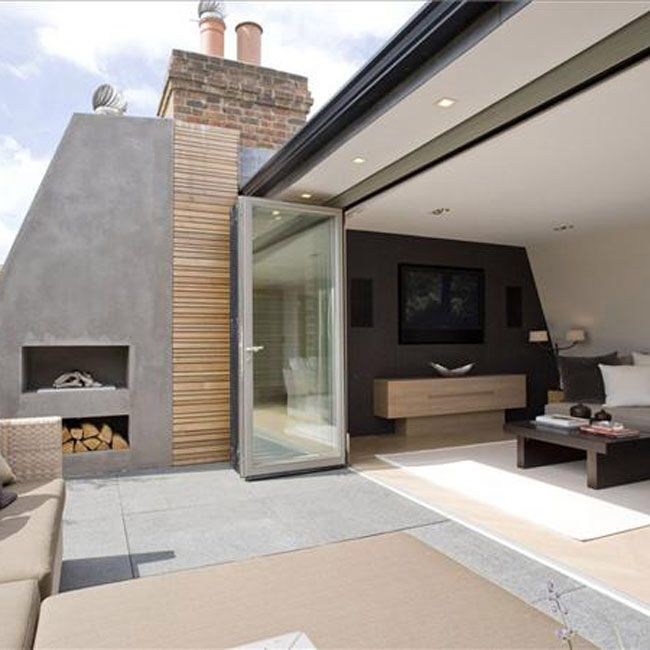 Roof top chimney