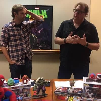"""We're live with Fred Tatasciore (voice of Hulk) and Liam O'Brien (voice of Doctor Strange) from """"Marvel's Hulk: Where Monsters Dwell""""!"""