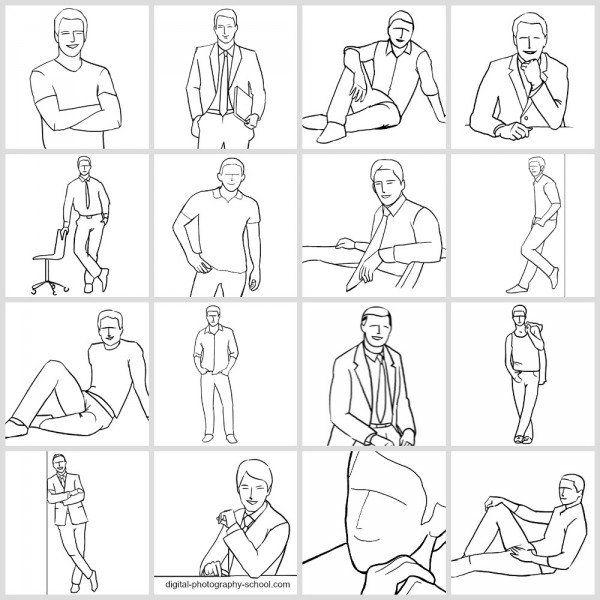 Guía Posando párrafo Sacar Las Mejores fotos de los Hombres
