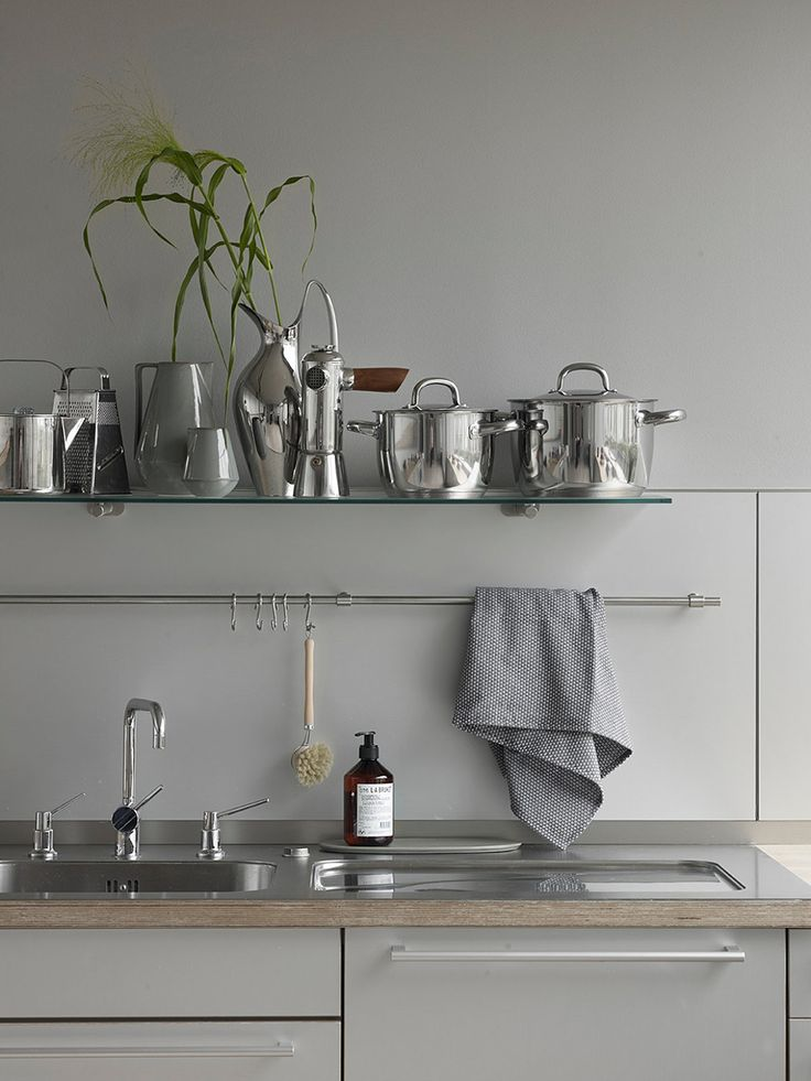 AMM blog | In Oslo, soft neutrals are accented by chrome