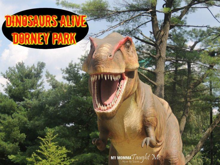Dinosaurs Alive Exhibit at Dorney Amusement Park