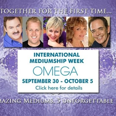 International Mediumship Week September 30-October 5, 2012: Events Calendar, Afterlife Mediumship, Week September, September 30 October, Professional Image, Mediumship Week, Profess Image, International Mediumship, Inspiration People