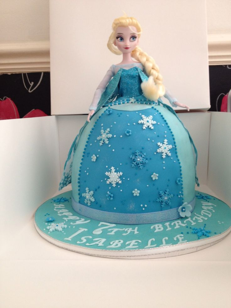 Princess Elsa Cake Images : Princess Elsa birthday cake party stuff Pinterest ...