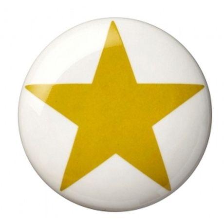 Gałka z żółtą gwiazdą