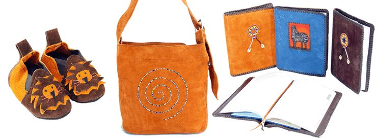 Leather work from L'Arche Kenya