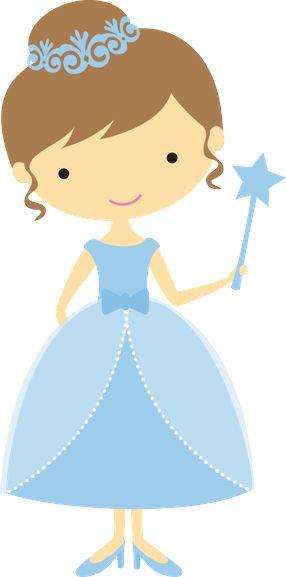 Pour une chambre de fillette Princesse de conte de fée