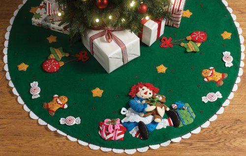 Raggedy Ann Christmas Tree Skirt Felt Kit Felt Kit Kit Bucilla,http://www.amazon.com/dp/B004EIWLHY/ref=cm_sw_r_pi_dp_SSO6sb1GVEJV80P6