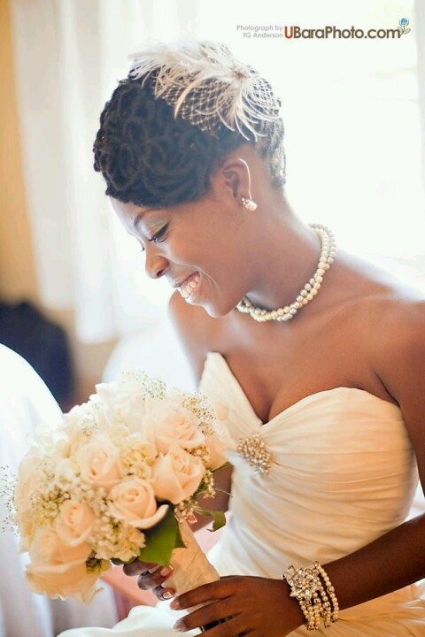 Black Natural Hairstyles For A Wedding : 165 best african american wedding hair style ideas images on pinterest