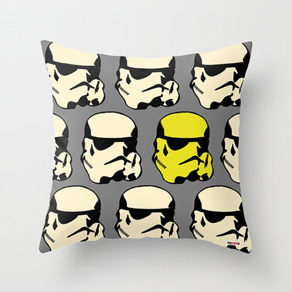 Star Wars throw pillow cover - decorative pillow - Boyfriend gift ideas - Present for him - birthday gifts for boyfriend - gifts for guys on Etsy, $55.00