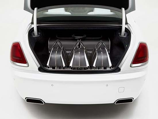 Rolls-Royce's New Luxury Luggage Set Costs More Than A New Car (or two)  #RollsRoyce #Luxury #Wraith #Luggage