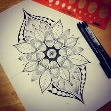 Image result for mandala thigh tattoos for females