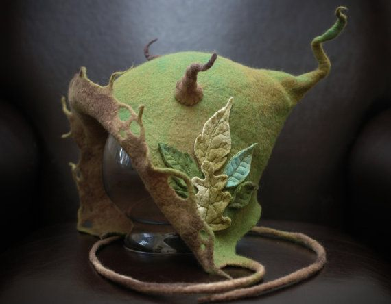 woman's goblin hood  made to order by lalabugdesigns on Etsy, $135.00
