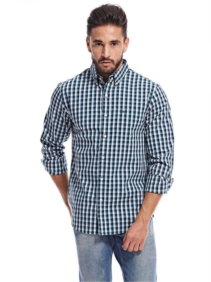 اشتري دوكرز قميص اخضر قبة قميص -رجال - بلايز/ تيشيرتات | السعودية | سوق