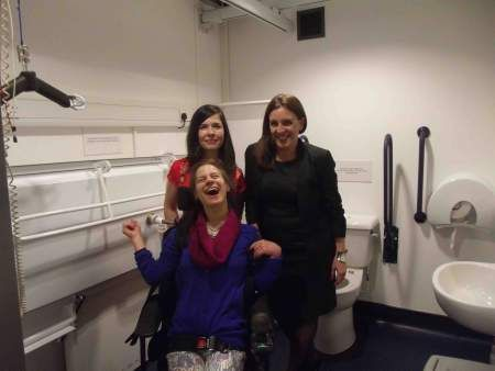 The O2 flushed with success for launch of the UK's 500th Disabled Loo | avesochangingplaces. http://www.opemed.net/About/changing-places/changingplaces.html