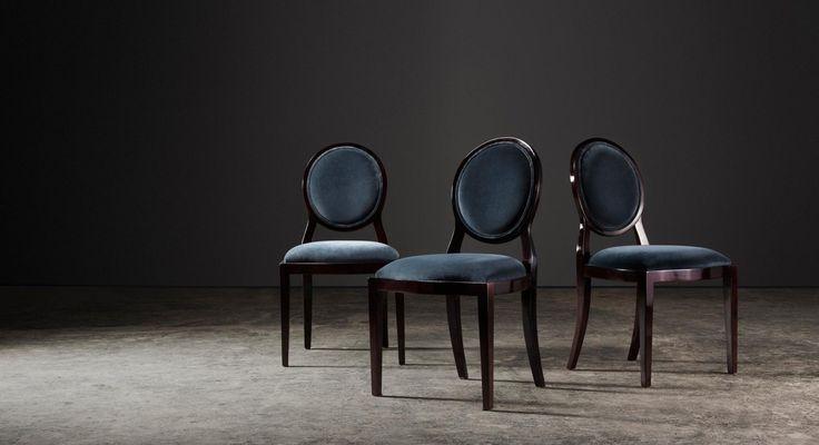 Sandton chairs in Mahogany french polish