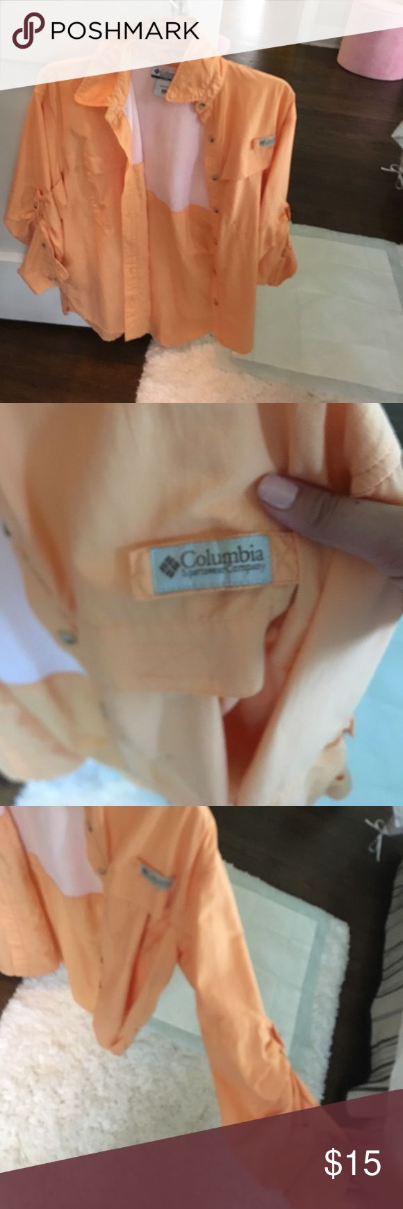 pfg shirt!! super cute and comfortable as a bathing suit cover up!! Columbia Skirts