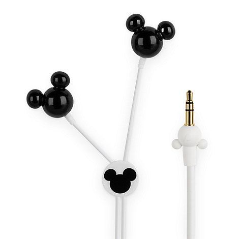 Mickey Mouse Earbuds - Black