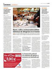 Página en formato PDF de la publicación 2014-03-07. Sección: CANARIAS. Página: 8
