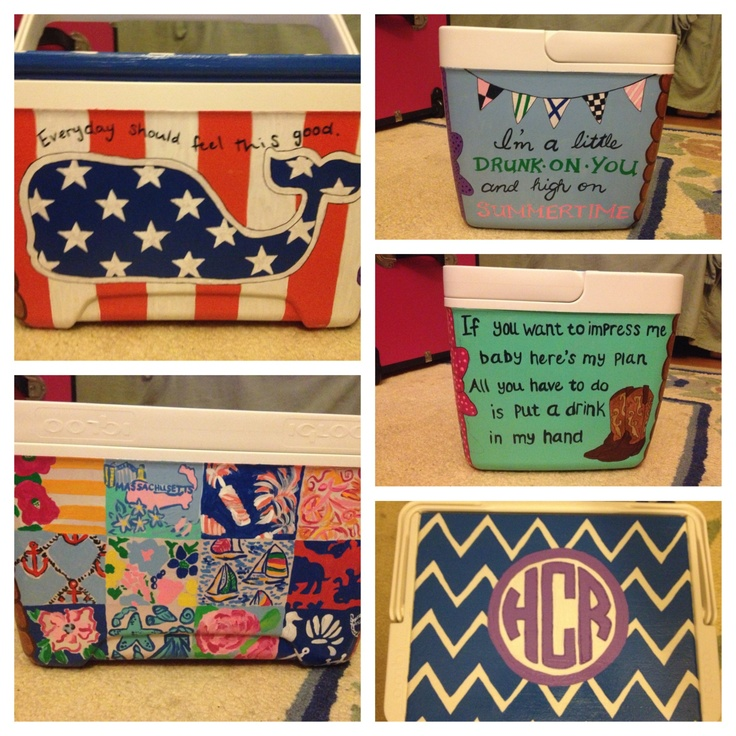397 Best Images About Coolers And Such On Pinterest