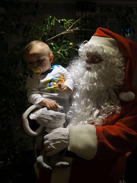 Święty Mikołaj Boże narodzenie Santa Claus  www.olga.com.pl