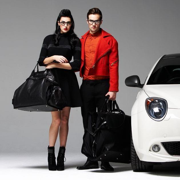 Alfa Romeo Leather Bags and Clothes.