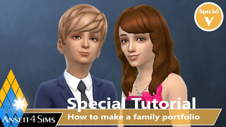 how to make a family played in sims 4