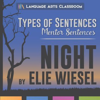 Mentor Sentences in Night - Types of Sentences: simple, compound, complex, compound-complex - and their effect on the story's message.