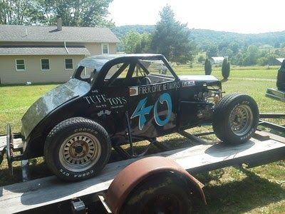 Dirt Dwarf Car And Trailer For Sale  Super Late Model Dirt