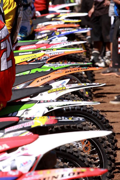 Nothing like that moment when you're lined up. #motocross #motox #offroad #RidersDiscount