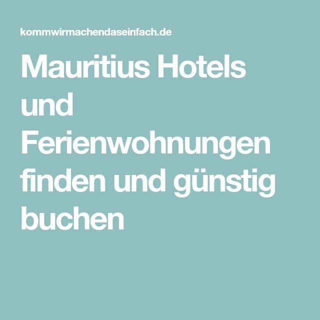 Mauritius Hotels und Ferienwohnungen finden und günstig buchen