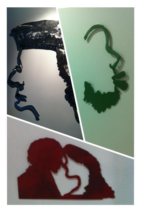 Leticia Vea  Perfiles en hierro de las exposiciones de Milán 2012