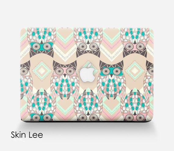 OWL Macbook Pro Decal Macbook Pro Skin Macbook Pro Case Macbook Pro Stickers Macbook Pro Cover Macbook Pro 13 Skin Pro 15 Decal Vinyl 12