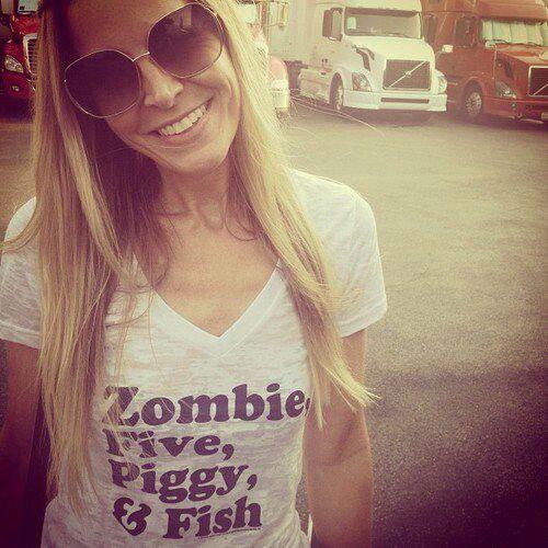 "I want this shirt!!! ❤️gls (Rob Zombie shirt - ""Zombie, Five, Piggy & Fish"")"