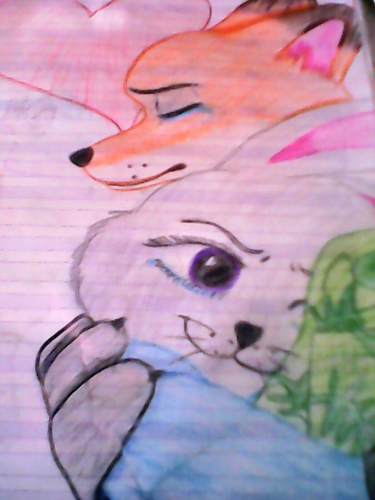 Judy y nick 😍😘