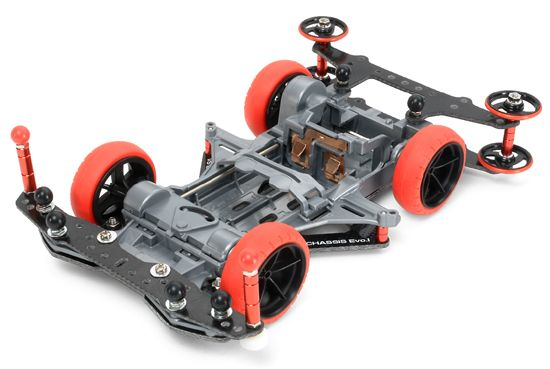 Mini 4WD VS Chassis Evo.I