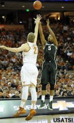 Adreian Payne scored a career-high 32 points and No. 5 Michigan State dominated the final 11 minutes of a 92-78 victory over Texas on Saturday.