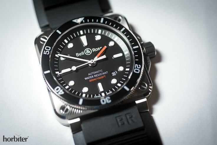 Bell & Ross BR03-92 Diver - Bell & Ross celebrates the 20th anniversary of the Hydromax by releasing its first (ISO-certified) BR Diver's watch