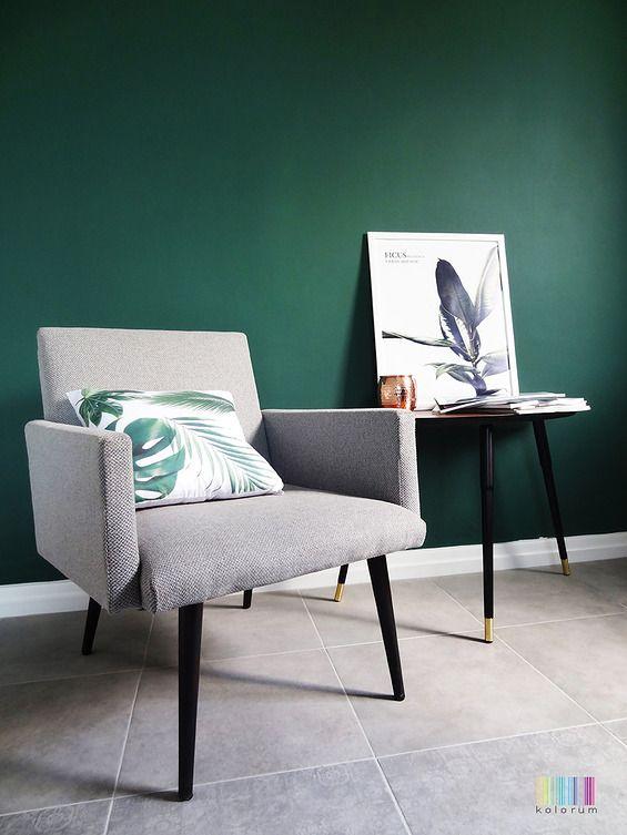 Oryginalny fotel z lat 70-tych - Kolorum -