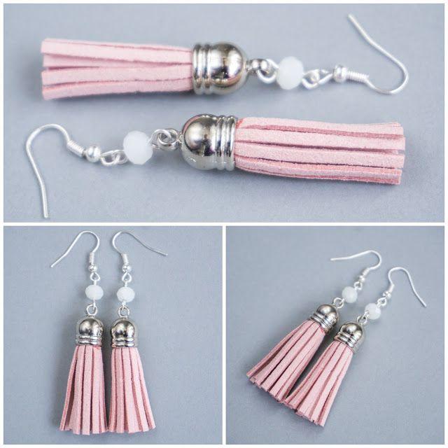 tassels earrings handmade
