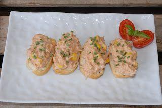 Bakemester Snipp: Tapas; Pincho med tunfiskrøre