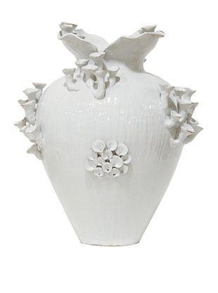 50% OFF White Moon Mushroom Vase