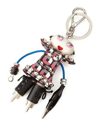Robot Trick Nancy Charm by Prada at Bergdorf Goodman.